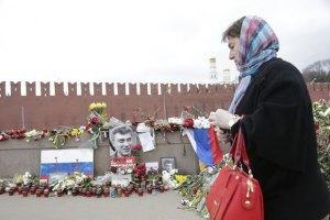 """У Москві знову """"зачистили"""" місце вбивства Нємцова"""