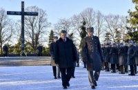 Порошенко почтил память финнов, погибших во Второй мировой войне
