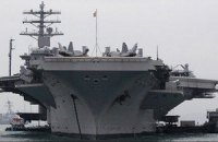 США отправили авианосец для поддержки удара по Сирии