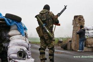 За добу в зоні АТО поранено трьох військових