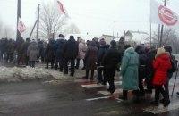 Жителі села під Києвом перекрили чернігівську трасу