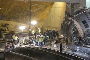Испания: в момент ж/д аварии машинист говорил по телефону