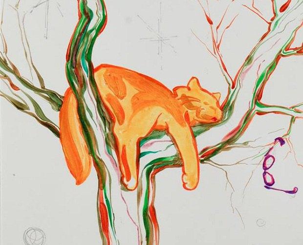 """Картина з серії """"Теплі коти"""" Тетяни Гілд"""