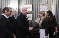 Тимошенко зустрілася з президентом Парламентської асамблеї ОБСЄ