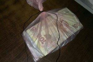 У Київській області на хабарі 300 тис. грн затримали співробітника податкової