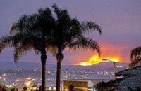 В Калифорнии из-за пожара эвакуирован целый город