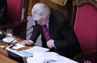Изменения в закон о выборах уже у Литвина