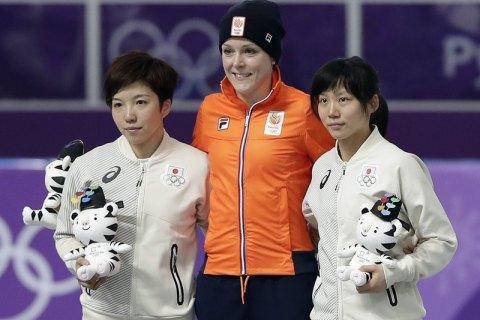 Голландская конькобежка Йорин тер Морс стала олимпийской чемпионкой на дистанции 1 500 м