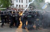 Грубых нарушений порядка во Львове не было, - МВД