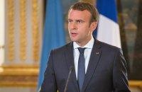 Макрон пригрозив Сирії завдати удару в разі застосування хімзброї