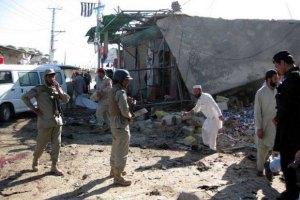 Взрыв пассажирского автобуса в Пакистане: 7 жертв