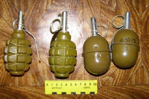 У Дніпропетровській області затримали військового з 17 гранатами