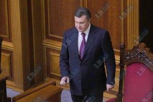 Янукович призвал Раду принять еврозаконы