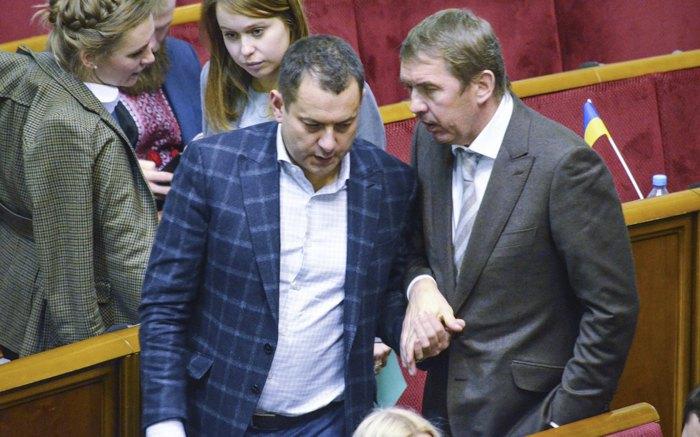 Максим Єфімов та Олег Кулініч у ВР, 19 грудня 2019