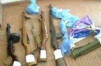 В Днепропетровске у «черного» археолога изъяли арсенал оружия времен Второй мировой