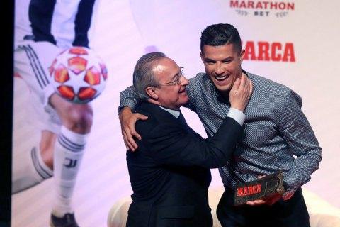 """Оприлюднено плівки, на яких президент """"Реала"""" образив Роналду і Моуріньо"""