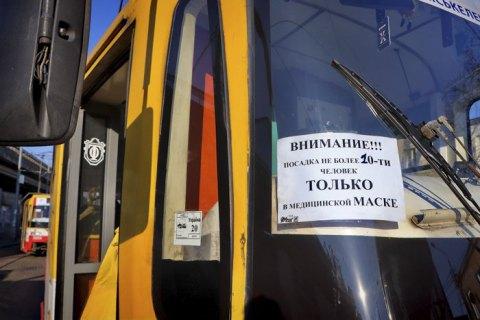 Кабмин запретил курсирование городских автобусов
