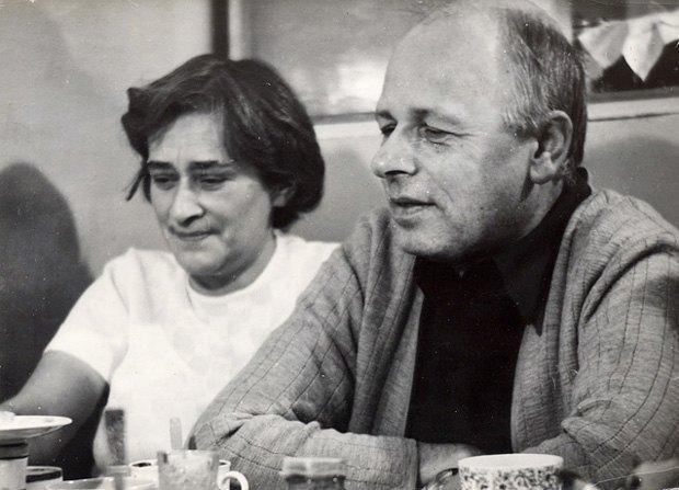 Андрей Дмитриевич Сахаров и Елена Георгиевна Боннэр, 1975 г.