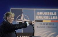 Трамп піде на другий термін з гаслом першої виборчої кампанії