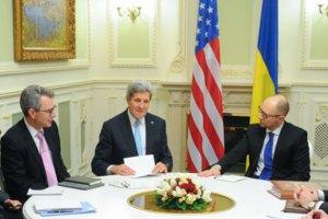 """Яценюк предлагает мирные переговоры в """"киевском формате"""""""