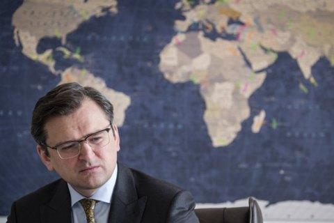 """Кулеба: """"Нас здивувало інтерв'ю угорського посла"""""""