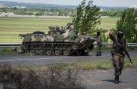 В Северодонецке террористы выкрали у пожарников два БРДМ