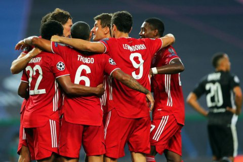 """""""Бавария"""" сместила """"Реал"""" с вершины клубного рейтинга УЕФА"""