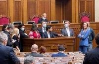 """Нардеп Аксьонов з """"російським паспортом"""" склав присягу під крики """"ганьба!"""""""
