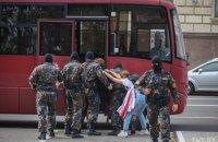 Під час протестів 1 вересня в Білорусі затримали близько 80 осіб