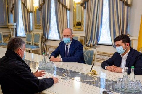 Зеленский встретился с Аваковым в связи со стрельбой в Броварах