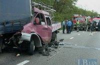 На Бориспольской трассе в страшном ДТП погиб мужчина