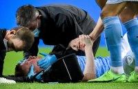 """Гравець """"Манчестера Сіті"""" отримав перелом носа і очниці у фіналі Ліги чемпіонів і пропустить старт Євро-2020"""