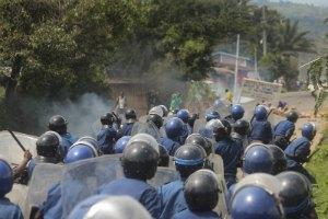 У Бурунді тривають сутички поліції з протестувальниками