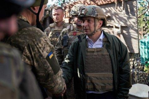 Зеленський відвідав позиції Збройних сил на передовій