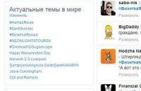 Хештег #ВизиткаЯроша вийшов у тренди Twitter
