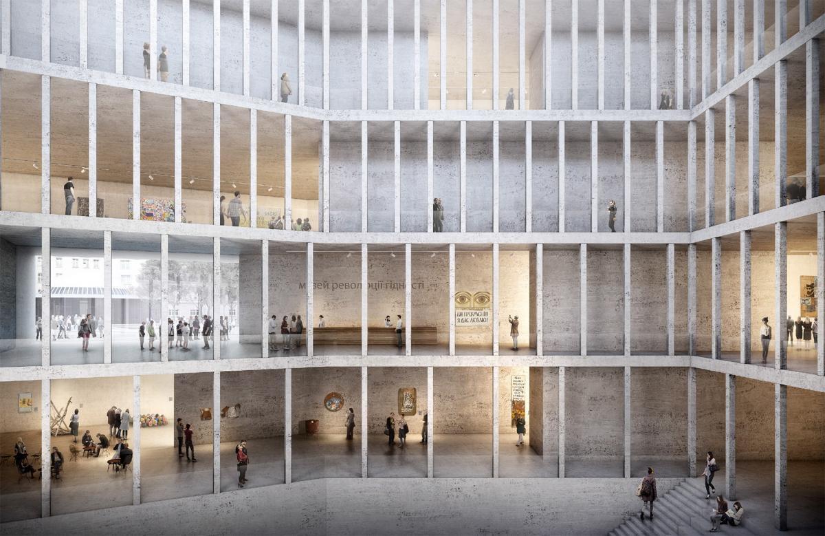 Журі визначило переможця архітектурного конкурсу на музей Революції гідності (фото)