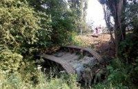 У Криму на трасі Сімферополь-Ялта перекинувся танк