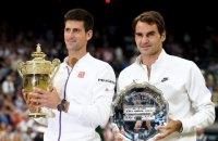 Джокович і Федерер на Вімблдоні вийшли в 100-й чвертьфінал ТВШ на двох
