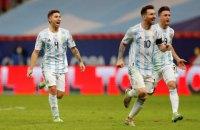 Аргентина стала другим фіналістом Копа Америка-2021