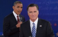 Рейтинги Обами і Ромні зрівнялися перед заключними дебатами