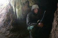 За сутки боевики 34 раза обстреляли позиции сил АТО на Донбассе