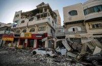 Через обстріли Ізраїлю в секторі Газа загинули 43 людини, в тому числі 13 дітей