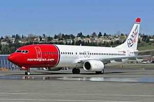 Норвежский лоукост начинает полеты в Украину