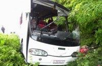 В Крыму автобус с туристами попал в серьезную аварию