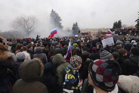 Правозащитники заявили о пытках задержанных на митинге против коррупции в Москве