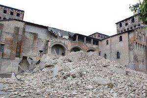 В Італії землетрус зруйнував пам'ятки архітектури