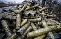 Нацгвардія знайшла склад з 1 тис. артснарядів поблизу Дебальцевого