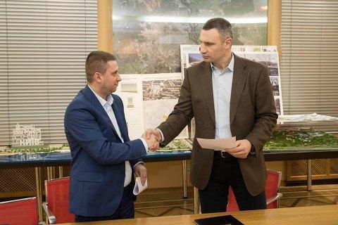 КМДА і забудовник Сінного підписали меморандум: висотність знижено до 19 поверхів