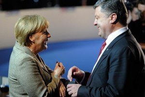 Порошенко встретится с Меркель накануне саммита 16-17 октября в Италии