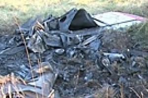 Под Каунасом разбился двухместный самолет
